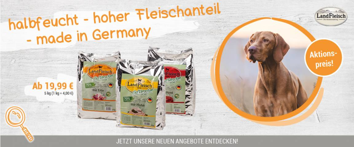 LandFleisch Dog Softbrocken 5 kg