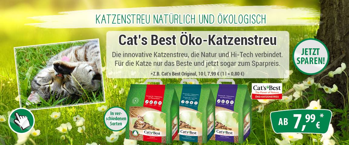 Cat´s Best - 8 % Rabatt