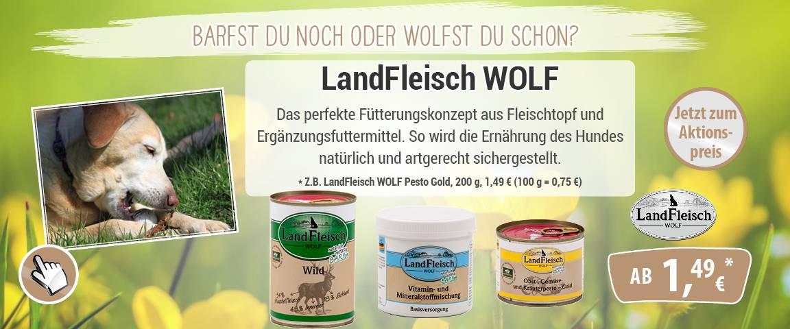 LandFleisch Wolf - 8 % Aktionsrabatt