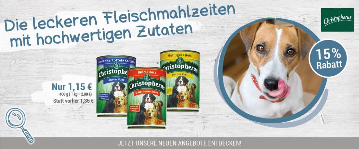 Christopherus Dog Fleischmahlzeiten 400 g