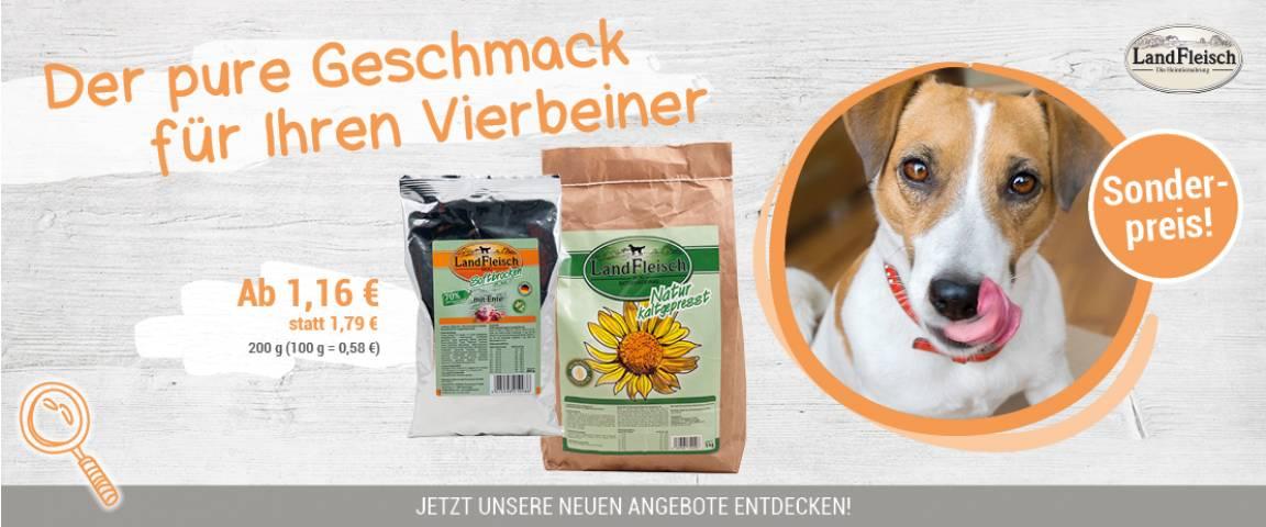 LandFleisch Kaltgepresst & Softbrocken - 10 % Rabatt