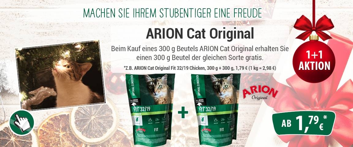 Arion Cat Original Fit 32/19 Chicken 300 g - 1 + 1 Aktion