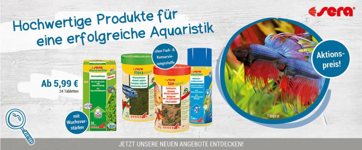 SERA Aquaristik und Pond