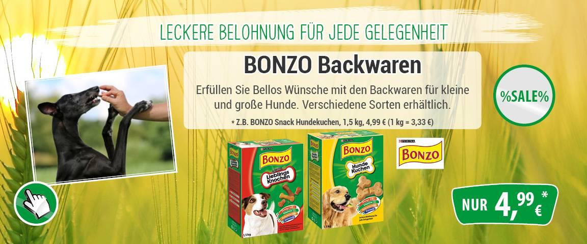 Bonzo Backwaren - 8 % Aktionsrabatt