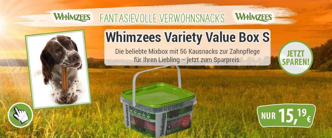 Whimzees Variaty Box - 20 % Aktionsrabatt