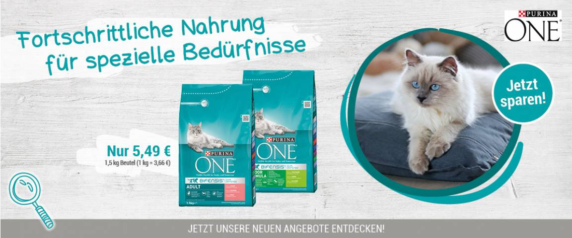Purina One Bifenses Aktionsartikel 1,5 kg