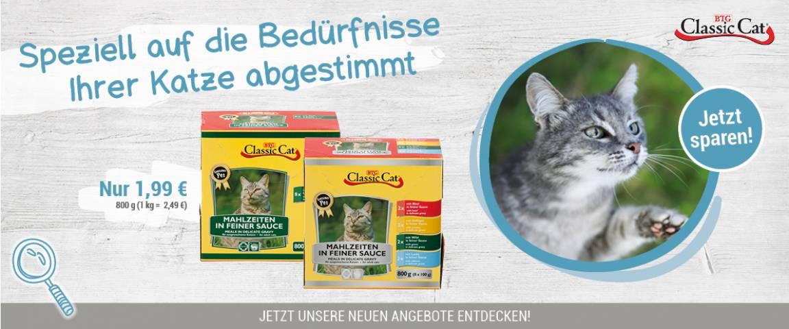 Classic Cat Pouchbeutel