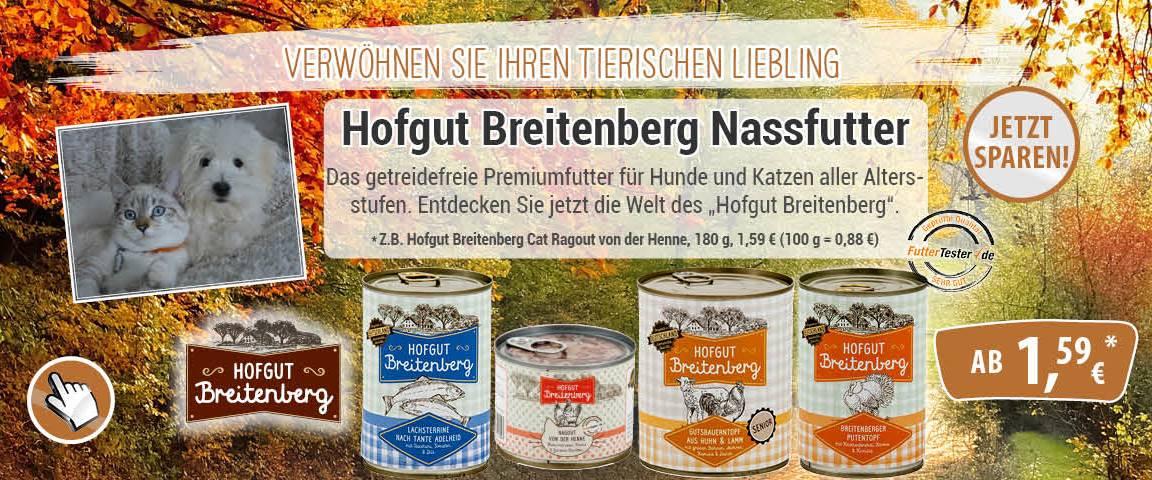 Hofgut Breitenberg Hund & Katze - 10 % Rabatt