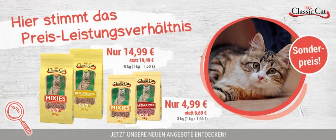 Classic Cat Trockenfutter - 15 % Rabatt