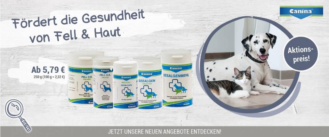 Canina Fell & Haut Produkte