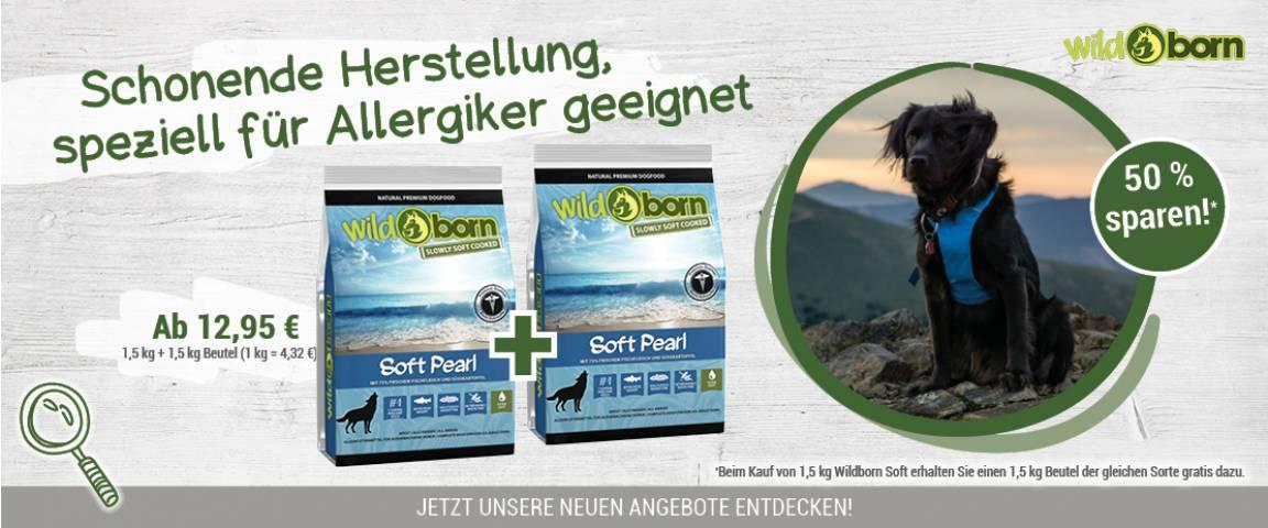 Wildborn Soft Perl 1,5 kg + 1,5 kg gratis