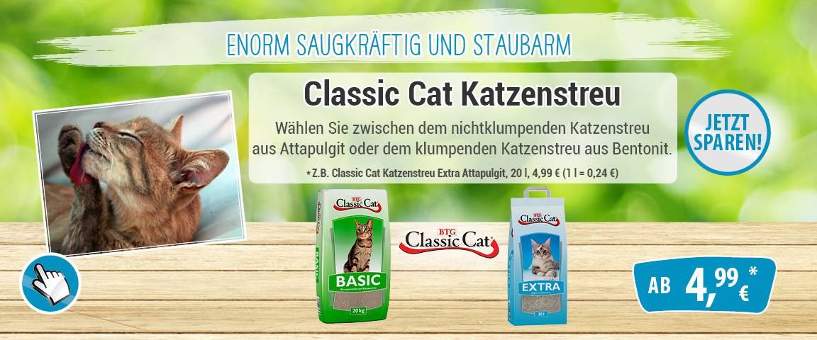 Classic Cat Katzenstreu - 5 % Aktionsrabatt