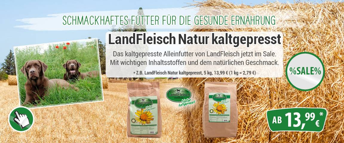 LandFleisch kaltgepresst - 5 % Aktionsrabatt