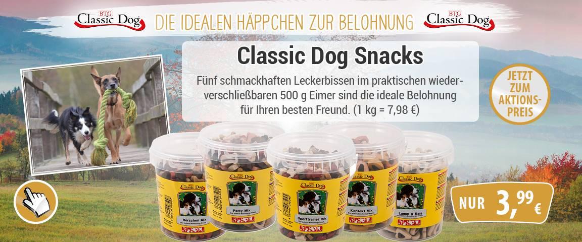 Classic Dog Snack im 500g-Eimer - 10 % Aktionsrabatt