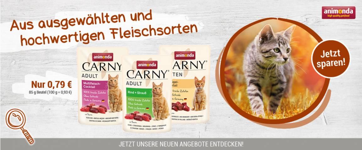 Animonda Carny 85g-Pouchbeutel - NEU - Aktionspaket