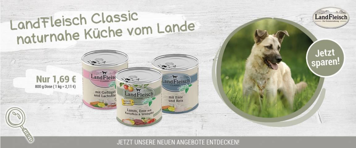 LandFleisch Dog Classic 800 g