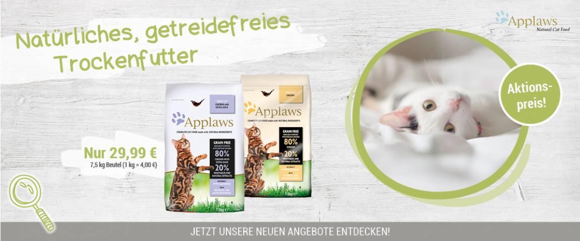 Applaws Aktionsartikel Cat Trockenfutter 7,5 kg