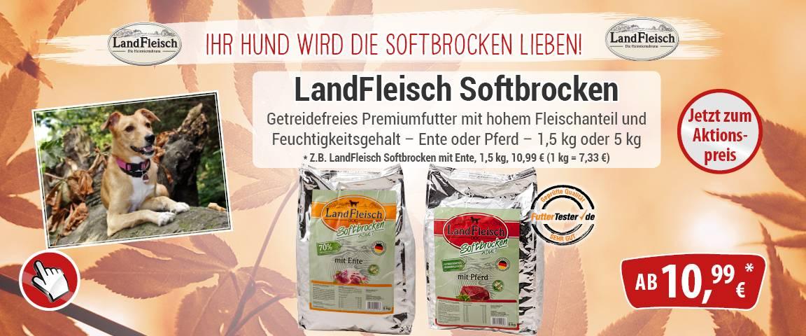 Landfleisch Softbrocken -5% Aktionsrabatt