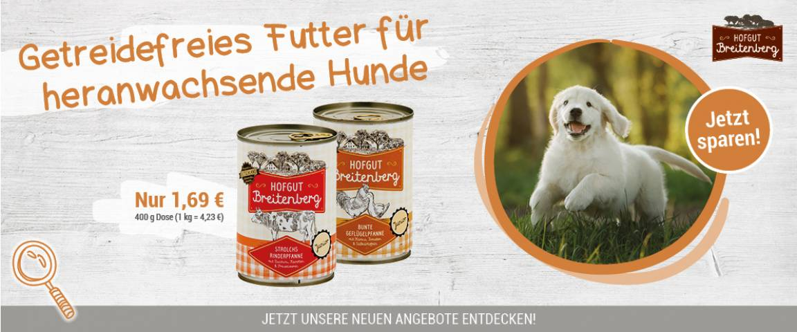 Hofgut Breitenberg Dog Junior 400 g Dose