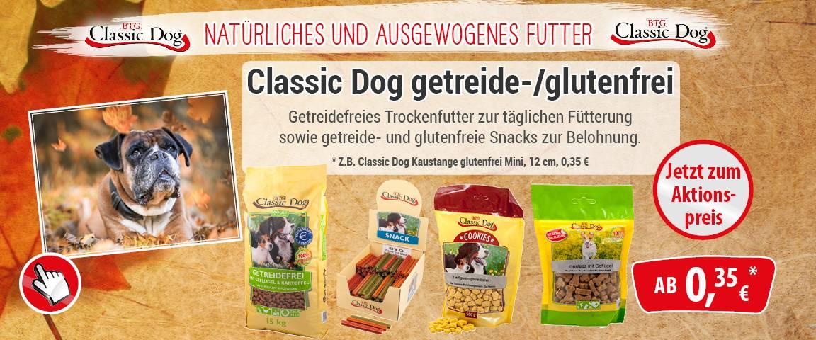 Classic Dog getreidefrei / glutenfrei -10% Aktionsrabatt