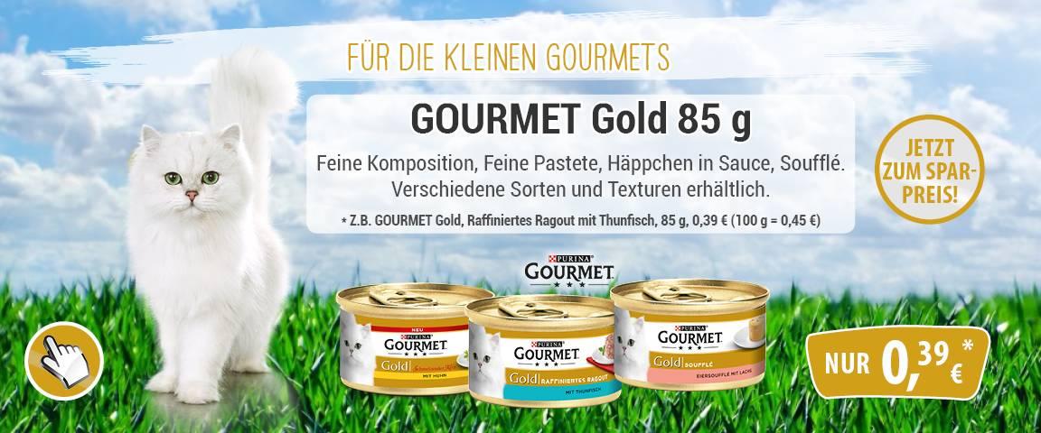Gourmet Gold 85g-Dose - 18 % Aktionsrabatt