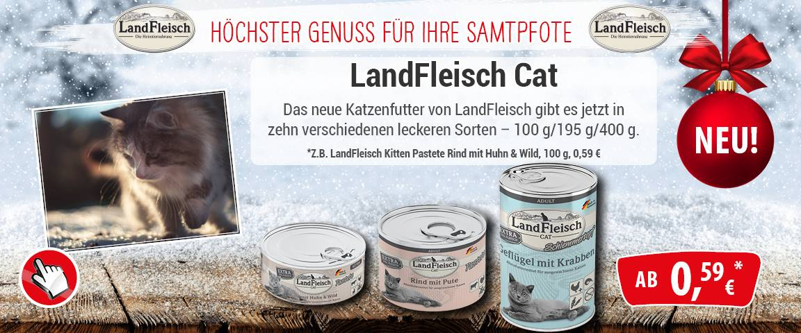LandFleisch Cat - NEU - 10 % Aktionsrabatt