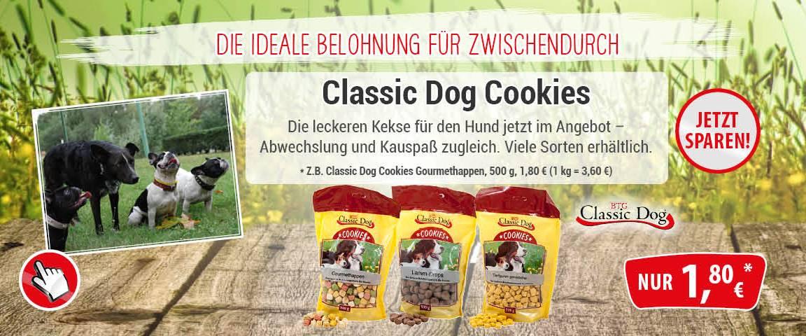Classic Dog Cookies 500g - 10 % Aktionsrabatt