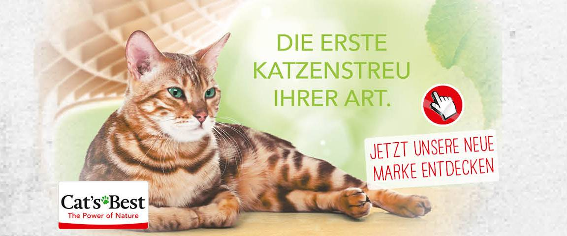 Markenwelt Cat's Best