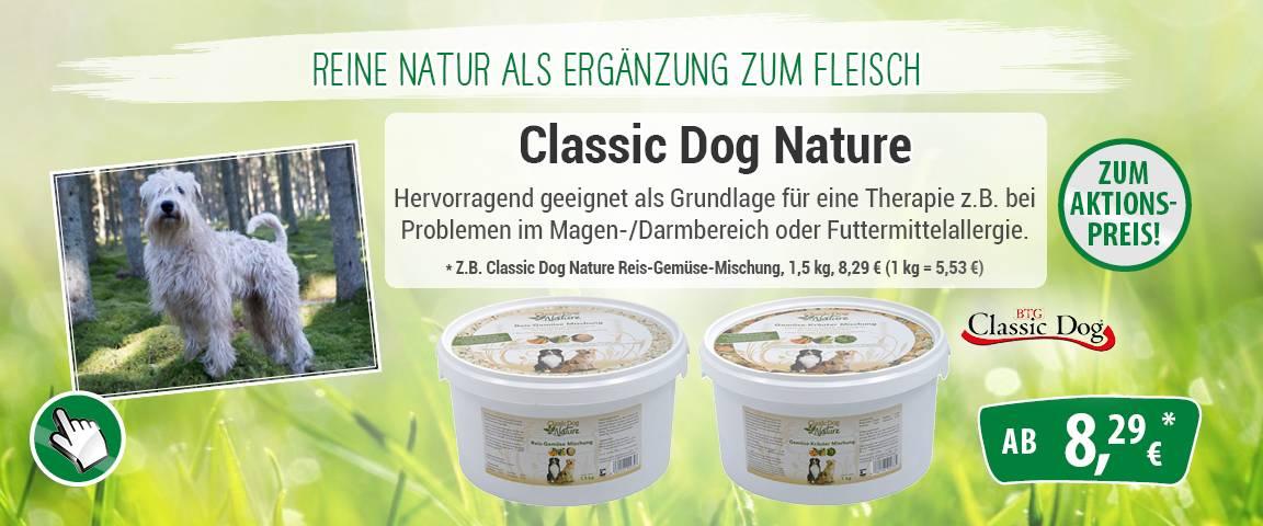 Classic Dog Nature Mischung Eimer 1kg/1,5kg - 5 % Aktionsrabatt