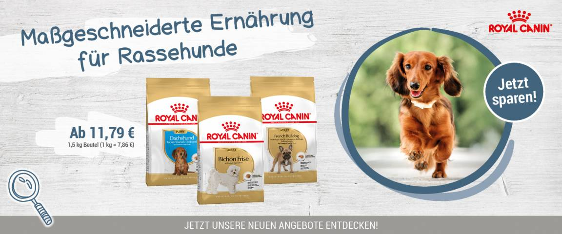 ROYAL CANIN Aktionsartikel Dog Breed Health Nutrition Trockennahrung