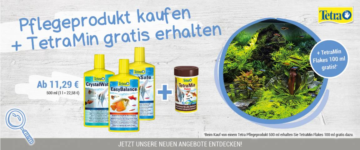 Tetra AquaSafe 500 ml + TetraMin Flakes 100 ml gratis
