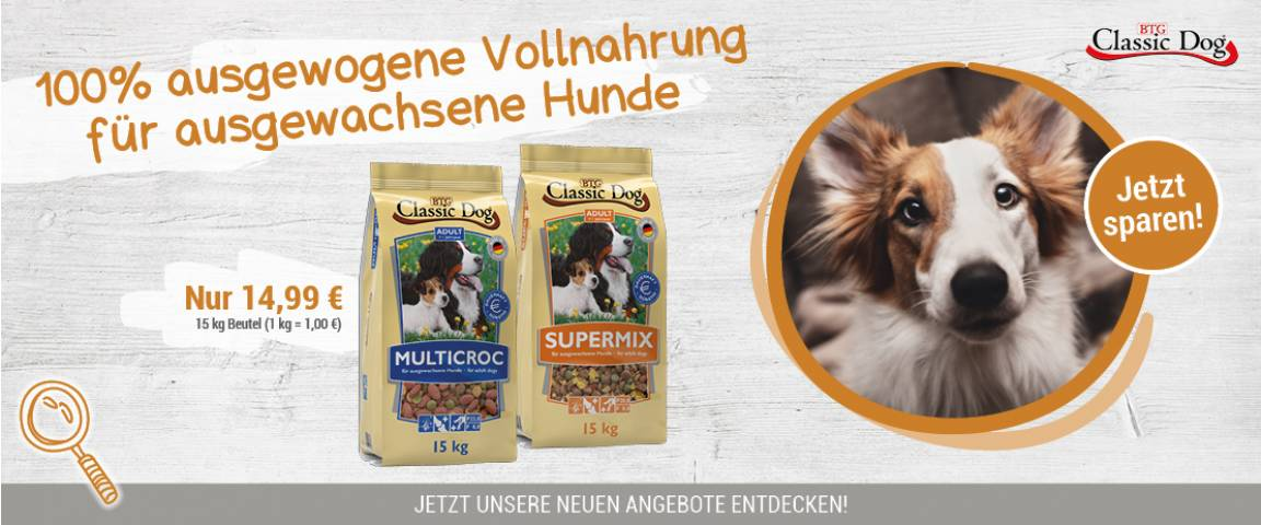 Classic Dog Multicroc/Supermix