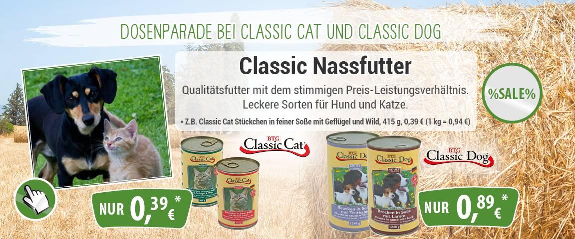 Classic Cat Nassfutter 415g-Dose - 10 % Aktionsrabatt