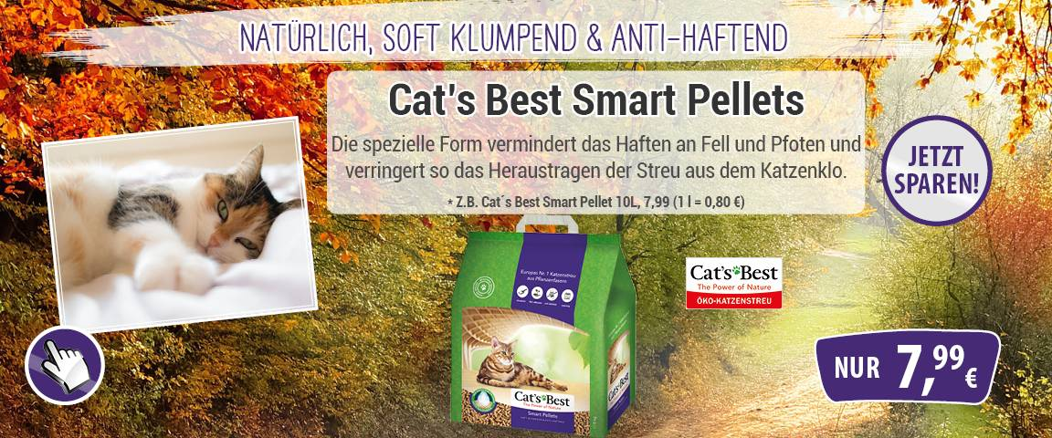 Cats Best Smart Pellet 10ltr - 8 % Aktionsrabatt