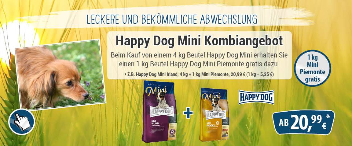 Happy Dog Supreme Sensible Mini Irland 4 kg + 1 kg Piemonte Mini gratis