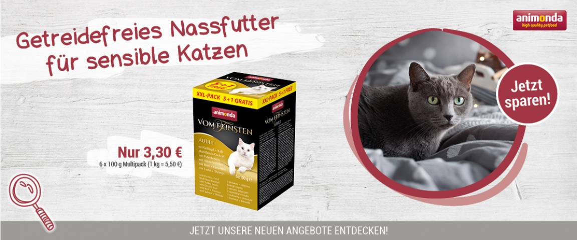 Animonda Aktionsartikel Cat Vom Feinsten Mixpack