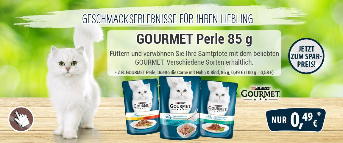 Gourmet Perle 85g-PB - 12 % Aktionsrabatt