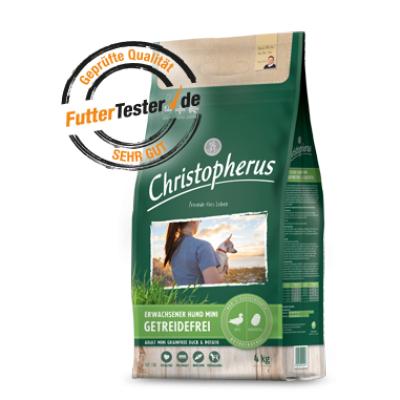 Christoperus - Sehr gut auf FutterTester.de