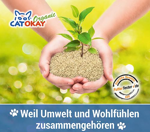 CatOkay Organic - organische Katzenstreu