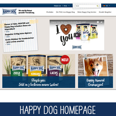 Happy Dog Website