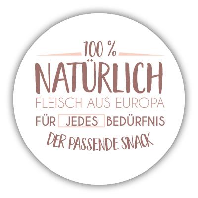 Fleisch aus Europa - zookauf feelgood Snacks