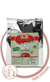 LandFleisch Dog Softbrocken Hundefutter halbfeucht