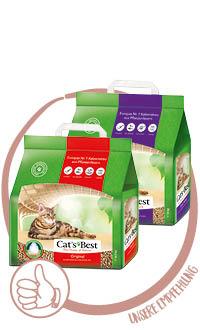 Cat's Best Original und Cat's Best Smart Pellets Katzenstreu