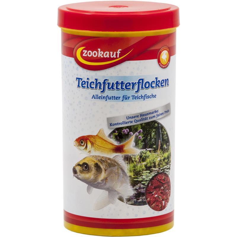 Zookauf teichfutterflocken g nstig online bestellen for Teichfische bestellen
