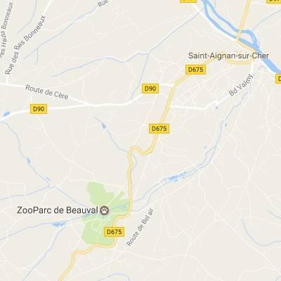 Accès - ZooParc de Beauval
