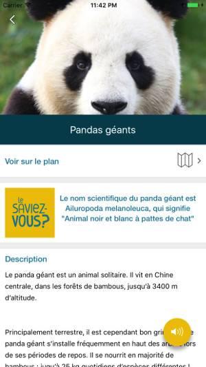 Fiches sur les animaux - L'application mobile - ZooParc de Beauval