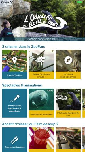 L'application mobile - ZooParc de Beauval