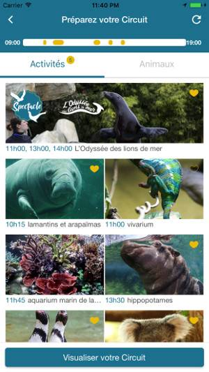 Organisez votre visite - L'application mobile - ZooParc de Beauval