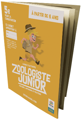 Carnet Zoologiste Junior - ZooParc de Beauval