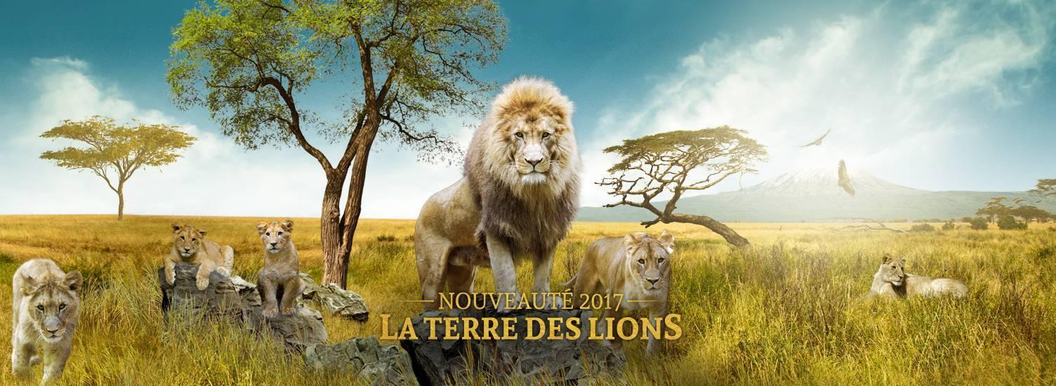 La Terre des Lions - Nouveauté 2017 - ZooParc de Beauval